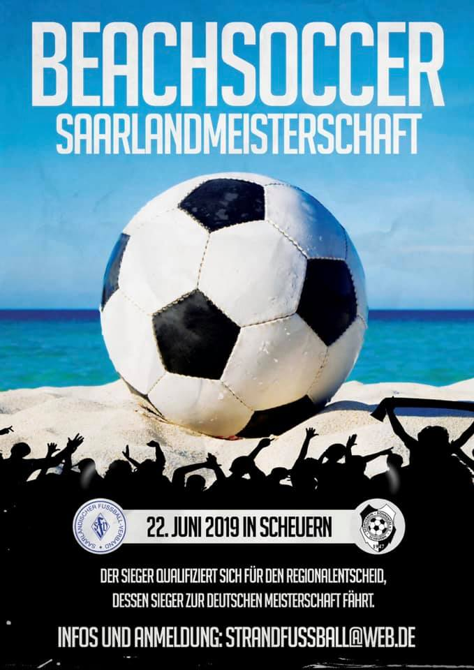 Beachsoccer Saarlandmeisterschaft 2019